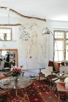 art-filled home - House of C | Interior blog