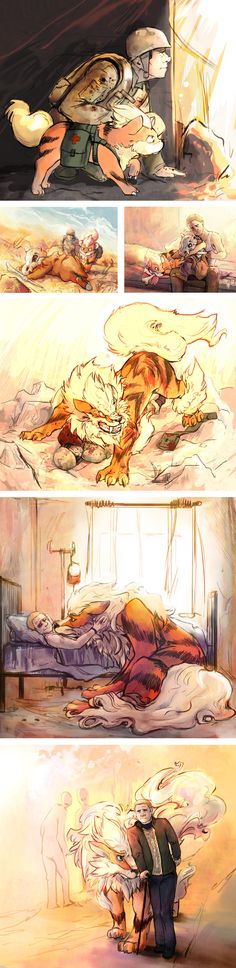 John and His Pokémon by aiwa-sensei. // Repinning because oh my god there's more.