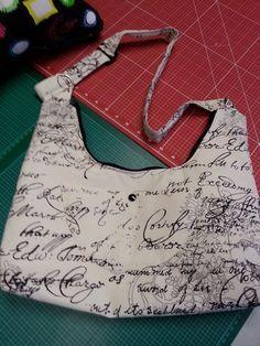 Tasche - Umhänge-/ Schultertasche - genäht von handmadebysylvia auf DaWanda.com