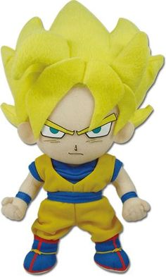 Dragon Ball Z 8'' Plush - Super Saiyan Goku @Archonia_US