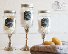 Mason Jar Apothecary Jars DIY