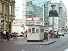 Berlin Photos at Frommer's - Checkpoint Charlie, a U.S. Army check point in Berlin