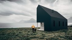 A Vancouver-based startup's conceptual design for flat-packed recreational cabins would allow users to build for themselves, making the wilderness more readily accessible.