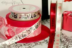 Make Valentine's Day extra sweet with these French-inspired ribbons. Ooh La La