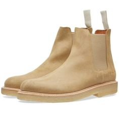 Buy the Common Projects Chelsea Workboot in Sand from leading mens fashion retailer END. - only Fast shipping on all latest Common Projects products Common Projects Chelsea Boots, Business Casual Shoes, Mens Boots Fashion, Mens Attire, Men S Shoes, Leather Shoes, Shoe Boots, Pairs, Closer