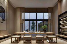 Villa Interior, Lobby Interior, Modern Interior, Interior Styling, Interior Architecture, Interior Decorating, Interior Design, Chinese Interior, Bricolage