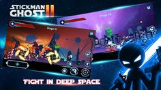 Play Stickman in galaxy wars, one of the biggest, most fun, challenging and addicting stick figure games, wars games.
