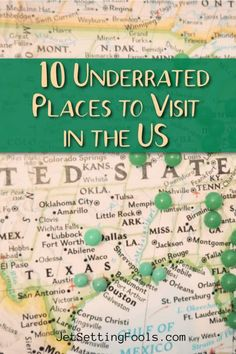 One of the best things about travel is new discovery – and there are plenty of places to discover in the United States! Vacation Places In Usa, Best Places To Travel, Cool Places To Visit, Places To Go, Travel Guides, Travel Tips, Budget Travel, Around The Worlds, Travel Around The World