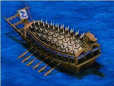 Korean Turtle Ship, amazing and one of the first using chemical warfare with sulfer and salt peter out of the dragons mouth Medieval, Turtle Ship, Pirate Art, Age Of Empires, Fantasy Places, Asian History, Nautical Art, Korean Art, Tall Ships