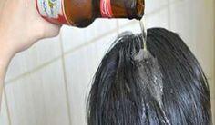 Aplica una cerveza en tu cabello y los resultados son increibles.