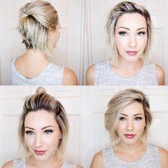 "5,580 gilla-markeringar, 45 kommentarer - @shorthair_love på Instagram: ""@chloenbrown #shorthairlove #haircut #hairstyle #hair #undercut #pixiecut #shorthair #bobcut"""