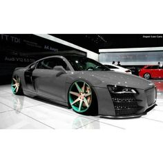 The meanest Audi R8 - more amazing cars here: http://themotolovers.com