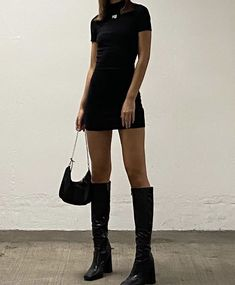 Fall Fashion Outfits, Fall Winter Outfits, Autumn Fashion, Womens Fashion, Trendy Fashion, Mode Streetwear, Streetwear Fashion, Looks Dark, Look Cool