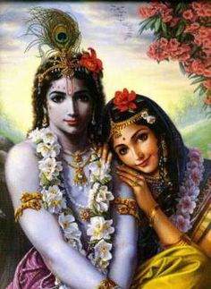 Radha and Krishna, the all attractive couple