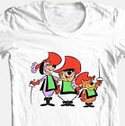 3 Musketeers T-shirt retro 80's Saturday morning cartoons 100% cotton white tee
