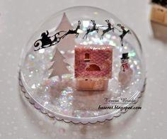 I love the Santa cut file she included! Inspiration Station: MIM Tinsel & Tags