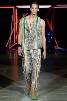 Roberto Cavalli Spring 2015 Menswear Fashion Show: Complete Collection - Style.com