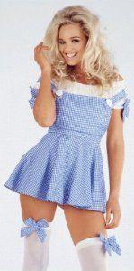 Sexy Miss Dorothy Wizard Of Oz Fancy Dress Costume X-Large
