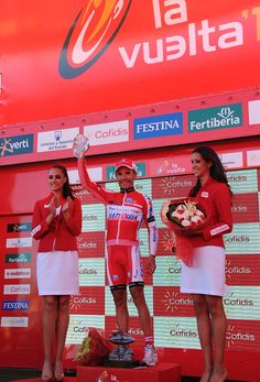 Looks like the Vuelta needs a higher top step on the podium. Joaquim Rodriguez takes stage 12 of the Vuelta. High Tops, Basketball Court, Stage, Fashion, Moda, Fashion Styles, Fashion Illustrations