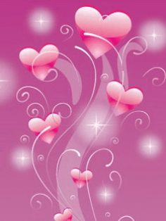 Immagini gif animate glitter dedicate al tema amore e love, cuori colorati ed immagini per innamorati.
