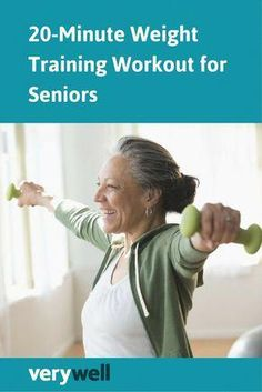 20 Minute Workout, Week Workout, Workout Fitness, Weight Training Workouts, Training Tips, Senior Fitness, Fitness Tips, Fitness Humor, Fitness Journal