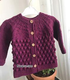 Baby Knitting Patterns, Sweaters, Fashion, Weaving Kids, Tejidos, Needlepoint, Women, Weaving, Knitted Baby Cardigan