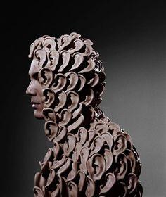 "Juxtapoz Magazine - Phillip Toledano's ""Hope & Fear"" Conceptual Art, Surreal Art, Surreal Portraits, Montage Photo, Photoshop, Thing 1, Photography Projects, Transformation Body, Sculpting"