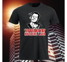 Tshirt.no HERRE   Våre design Yippee Ki Yay, Mens Tops, T Shirt, Design, Fashion, Supreme T Shirt, Moda, Tee, Fashion Styles
