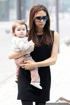 Baby's First Job Offer: Harper Beckham « Kickette.com – Soccer/football gossip, hot players, WAGs that love them