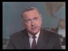 "This day in News History: Feb. 27, 1968, Walter Cronkite announced on the ""CBS Evening News"" that the United States was ""mired in stalemate"" in the war in Vietnam."
