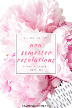 """New Year's Resolutions are out, New Semester Resolutions are in! Learn how to make """"smart"""" resolutions to set yourself up for the best semester yet!"""