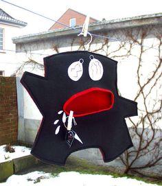 peg bag - black