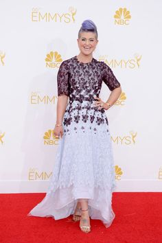 Kelly Osbourne - Emmy 2014 - Vestido de Honor - #Joyas y #celebrities en @bijouprivee