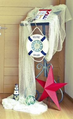 nautical theme party - this would be a good retirement party theme