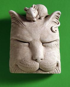 This amazing Cat Nap Sculpture from #CarruthStudio will breath life into any home or garden!