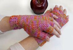 The Crochet Express: 2016 NatCroMo Blog Tour | Featured Designer: Karen McKenna | Pattern: Arched Fingerless Gloves #NatCroMo #blogour #crochet #crochetdesigner #crochetpattern