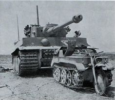 A Kettenkrad leading a Tiger 1 in a unconfirmed location