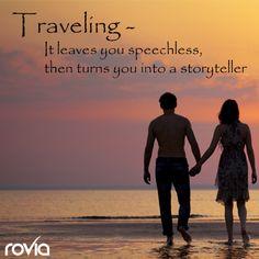 Travel & create more memories! www.Rovia.com  ~Travel on! #rovia #booked #travelon