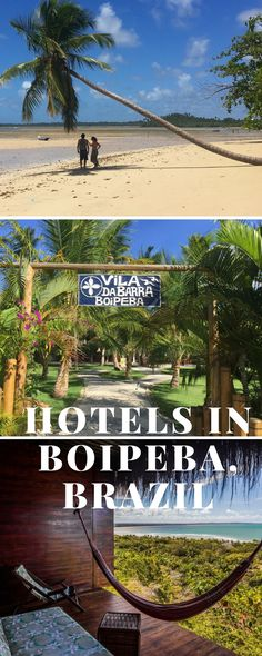 Hotels in Ilha de Boipeba, Brazil. A short list with beach hotels in Boipeba Island, Bahia, Brazil, which was elected one of the best islands in South America by Trip Advisor.