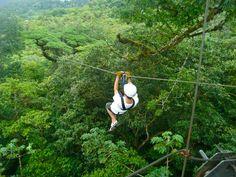 Another Puerto Vallarta Canopy Tour zip line - The Big Kahuna