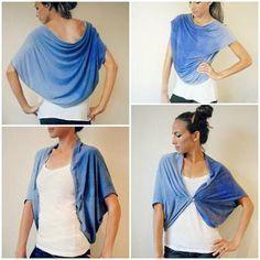 reciclar blusas -