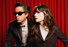 """A Very She & Him Christmas"" album. From my girl crush, Zooey Deschanel (she) and M. Ward (him). Let the holiday season begin."