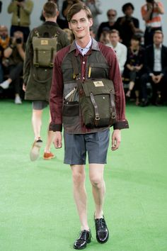 Junya Watanabe` Spring 2014 Men's Collection