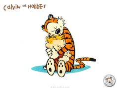 This animation of Calvin and Hobbes dancing will make you grin