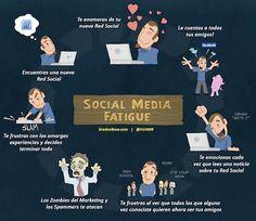 Fatiga del Social Media
