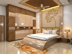 the newest bedroom furniture design catalog with modern bedroom cupboard design ideas and wooden wardrobe interior designs 2019 Bedroom Cupboard Designs, Wardrobe Design Bedroom, Luxury Bedroom Design, Bedroom Furniture Design, Master Bedroom Design, Home Interior Design, Bedroom Decor, Wardrobe Bed, Wooden Wardrobe