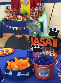 Jasaii's Paw Patrol Party | CatchMyParty.com
