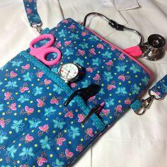Bolso de enfermería enfermera organizador bolso por SueBrainDesigns
