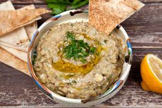 BABA GHANOUJ | Diva in bucatarie Small Meals, Hummus, Side Dishes, Eat, Ethnic Recipes, Diva, Food, Essen, Divas