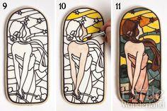 Tutorial: Galletas vidriera   stained glass art deco cookies